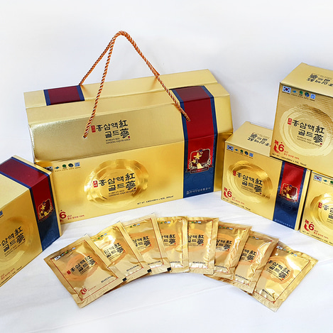 6년근 고려홍삼액 골드, 6-year-old Korean Red Ginseng liquid extract Gold