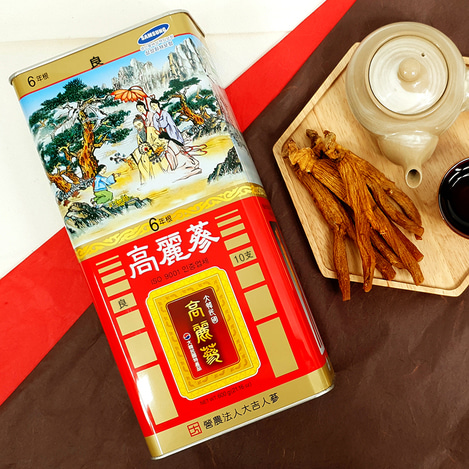 [양삼] 6년근 고려홍삼 10지 600g, [Good Grade Ginseng] 6-year-old Korean Red Ginseng  10 pieces 600g
