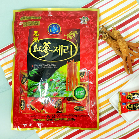 고려홍삼제리(젤리) 500g, Korean Red Ginseng jelly 500g