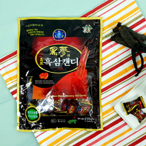 고려흑삼캔디 270g, Korean Black Ginseng candy  270g