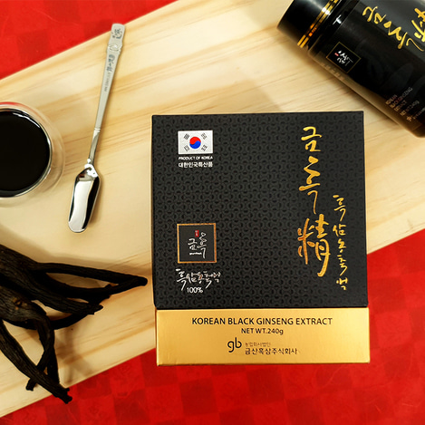 [구증구포] 고려흑삼정 농축액 240, [9 Repetitive Steaming and Drying Process] Korean Black Ginseng extract concentrate 240