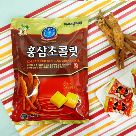고려홍삼 초콜릿 140g, Korean Red Ginseng chocolate 140g